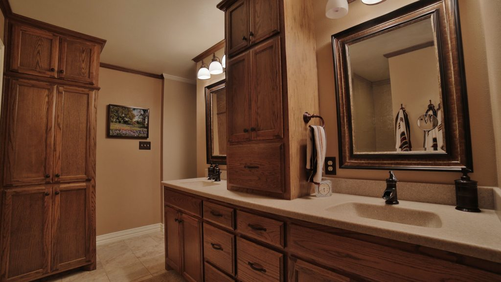 Vanity and Cabinets